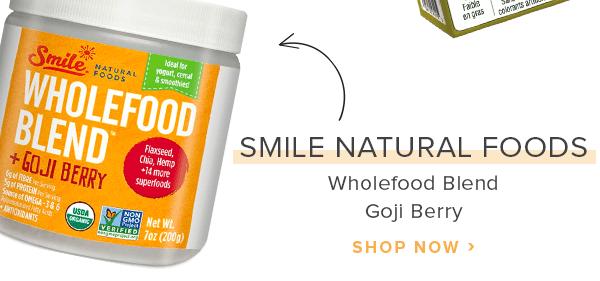 Smile Natural Foods Wholefood Blend Goji Berry