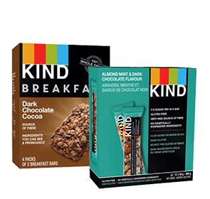 Save 20% on KIND healthy snacks