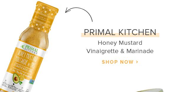 Primal Kitchen Honey Mustard Vinaigrette & Marinade