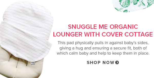 Snuggle Me Organic Lounger with Cover Cottage