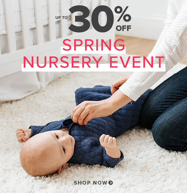 Save up to 30% on Nursery Event
