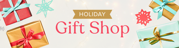 Holiday Gift Guide Shop