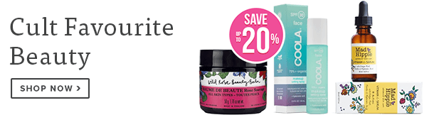 Save up to 20% on Cult Favourite Beauty Products